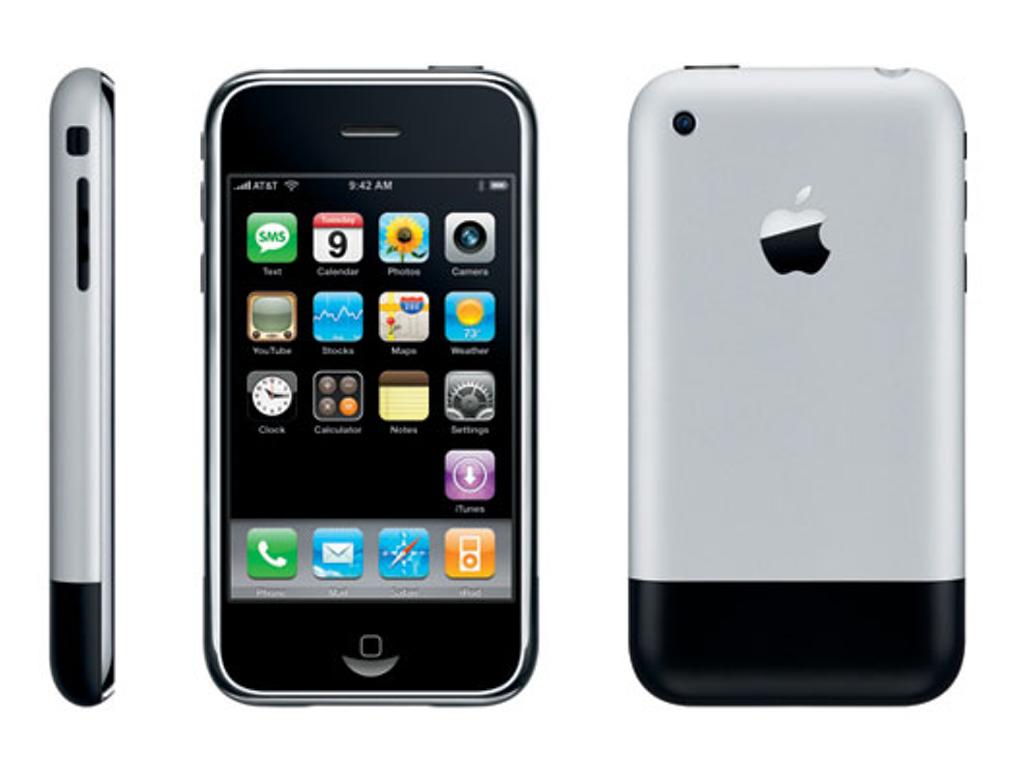 2007年発売、初代iphone