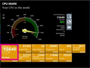 「Skylake-SP」Xeon Gold 5120T Passmark