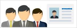 医療情報技師の資格保有者が多数在籍